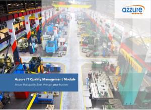 Azzure IT Quality Management Add On App