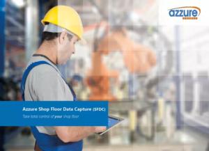 Azzure IT Shop Floor Data Capture Add On App