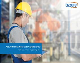 Shop Floor Data Capture Brochure