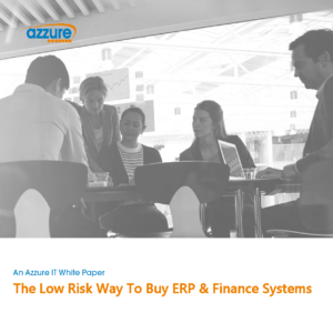 The low risk way to buy ERP and Finance systems by Azzure IT. Microsoft Dynamics 365 Business Central and Microsoft Dynamics NAV is the leading ERP system for SME's